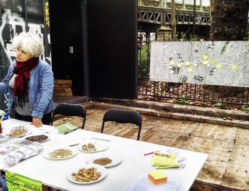 Retour en images sur l'atelier graines avec Evelyne de Vergers Urbains