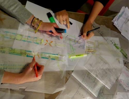 Réflexion sur la mobilité douce sur la Promenade Urbaine / Atelier de co-conception