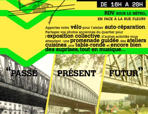 Fête de la Promenade Urbaine, 2e édition , Passé-Présent-Futur  / 6 octobre 2017