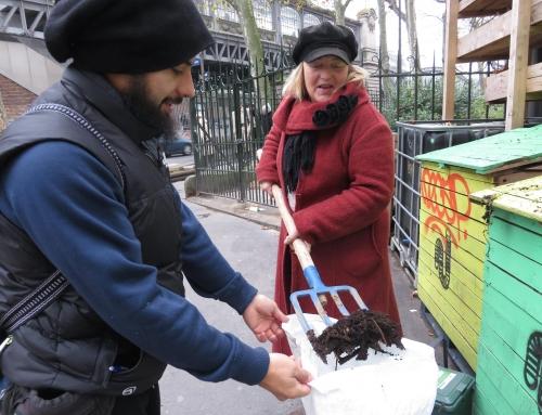 Atelier Compost et jardinage avec Vergers Urbains – 2 décembre 2017