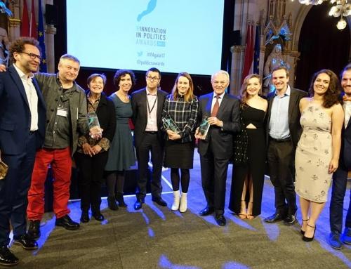 Finaliste du prix de L'Innovation Politique Europanova