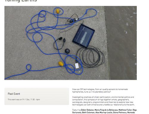 Expérimentation et recherche 'CITIZEN SENSING' pour la Promenade Urbaine