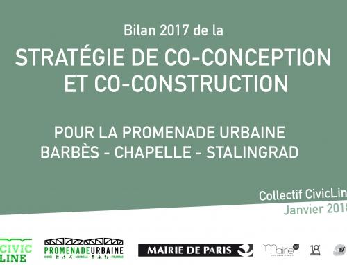Bilan d'activités réalisées par le collectif Civic Line pour l'année 2017